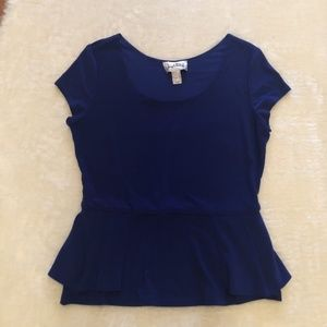Joseph Ribkoff Royal Blue Short Sleeve Top